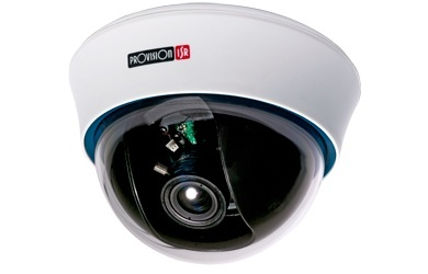 Provision-ISR Cámara CCTV Domo DX-372CSVF, Alámbrico, 976 x 494 Pixeles, Blanco