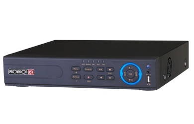 Provision-ISR NVR de 4 Canales NVR2-4100P para 1 Disco Duro, 6TB, 2x USB 2.0