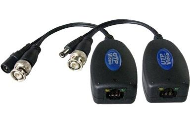 Provision-ISR Balun Tranceptor Pasivo de Video PTR-102VP, 1 Canal