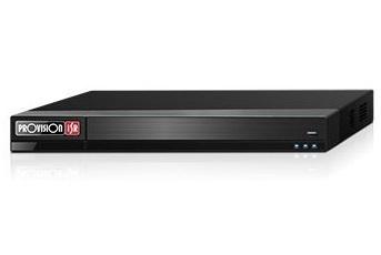 Provision-ISR DVR de 16 Canales BNC para 2 Discos Duros, max 12TB, 1x USB3.0