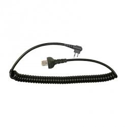 Pryme Cable para Auricular para Radio MC-2103, Negro, para Motorola