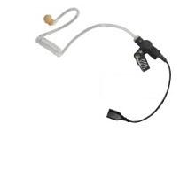 Pryme Auricular de Tubo, Transparente, Requiere Micrófono de Solapa de 1 o 2 Hilos de la Serie SNAP
