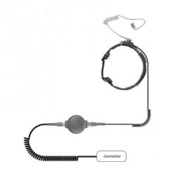 Pryme Micrófono para Radio SPM-1500IL, Negro, para ICOM
