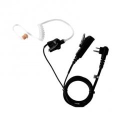 Pryme Micrófono con Solapa para Radio SPM-2303, Negro, para Motorola