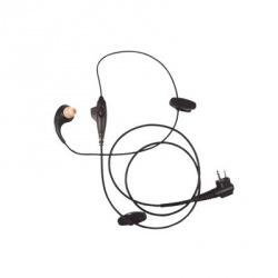Pryme Micrófono con Solapa para Radio SPM-233, Negro, para Motorola