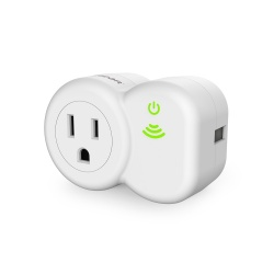 PureGear Smart Plug PureSwitch, WiFi, Blanco - solo para Apple