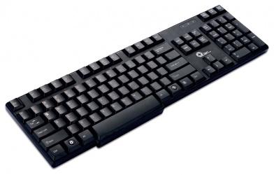 Teclado Qian XIE, Alámbrico, USB, Negro (Español)