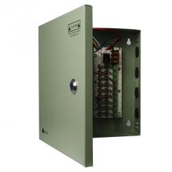 Qian Fuente de Poder de 9 Canales QAY-60302, 12V, 5A, Verde