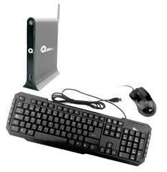 Computadora Kit Qian XIAO, Intel Core i5-4200U 1.60GHz, 4GB, 1TB, FreeDOS + Teclado/Mouse