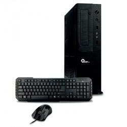 Computadora Kit Qian QCS1711, Intel Core i5-7400 3GHz, 4GB, 1TB, Windows 10 Pro 64-bit + Teclado/Mouse