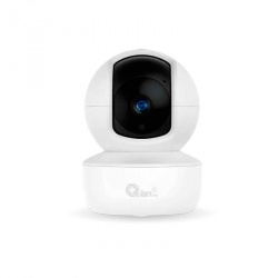 Qian Cámara IP Smart WiFi Domo para Interiores/Exteriores QCY-62401, Inalámbrico, 1920 x 1080 Pixeles, Día/Noche
