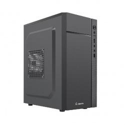 Gabinete Quaroni QCMT05, Mini-Tower, Micro ATX/Mini-ATX, USB 2.0, incluye Fuente de 400W, Negro
