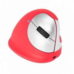 Mouse R-Go Tools R-Go HE Sport, Inalámbrico, Bluetooth, 2400DPI, Rojo