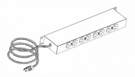 Racks & Cabs PDU para Rack B002-BK 19