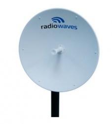 RadioWaves Antena Direccional SPD3-5.9NS, 33.5dBi, 5.92 - 6.42GHz