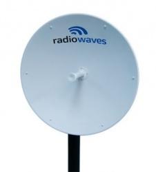RadioWaves Antena Direccional SPD3-5W, 33dBi, 4.9 - 6GHz ― Incluye Montaje