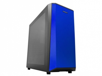 Gabinete Raidmax Delta con Ventana, Midi-Tower, ATX/ITX/Micro-ATX, USB 3.0, sin Fuente, Negro/Azul