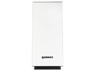 Gabinete Raidmax Enigma con Ventana RGB, Tower, ATX/Micro-ATX/Mini-ITX, USB 3.0, sin Fuente, Blanco