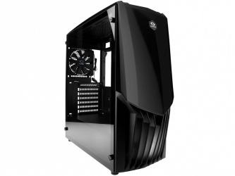 Gabinete Raidmax GAMA con Ventana, Midi-Tower, ATX/ITX/Micro-ATX, USB 3.0, sin Fuente, Negro