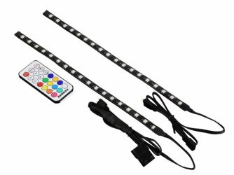 Raidmax Tiras LED RGB LD-602, 30cm, 2 Piezas