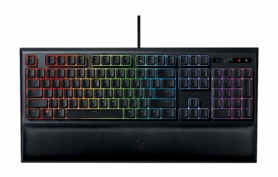 Teclado Gamer Razer Ornata Chroma RGB, Teclado Mecánico, Alámbrico, Negro (Inglés)