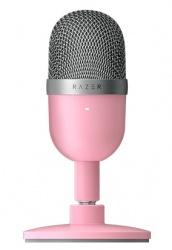 Razer Micrófono Seiren Mini, Alámbrico, Rosa
