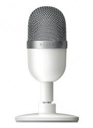 Razer Micrófono Seiren Mini, Alámbrico, Blanco