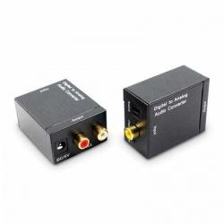 Redlemon Convertidor de Audio Digital Coaxial/Toslink - RCA, Negro