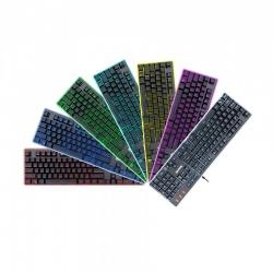 Teclado Gamer Redragon DYAUS 2 K509 RGB, Teclado Membrana, Alámbrico, Negro (Español)