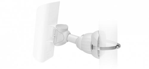 RF Kit de Montaje NanoBracket, Blanco, para NanoStation LOCO M2