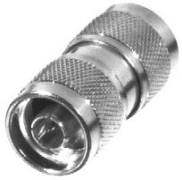 RF Industries Conector Coaxial N Macho - N Macho, Plata