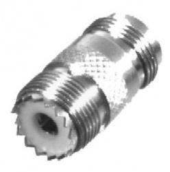 RF Industries Conector Coaxial N Hembra - UHF Hembra, Plata