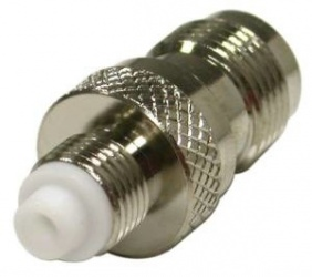 RF Industries Conector  Coaxial TNC Hembra - FME Hembra, Plata