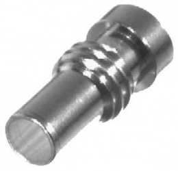 RF Industries Conector Coaxial Reductor para Cables UHF, Plata