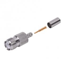RF Industries Conector Coaxial TNC Hembra, Metálico