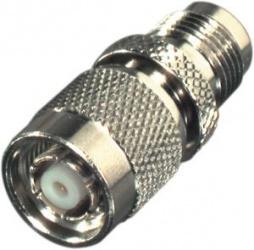 RF Industries Conector Coaxial TNC Macho - TNC Hembra, Plata
