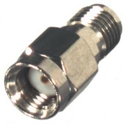 RF Industries Conector Coaxial en Línea SMA Macho - SMA Hembra, Plata