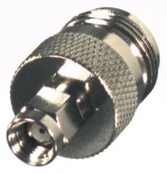 RF Industries Conector Coaxial SMA Macho - Clase N Hembra, Niquel