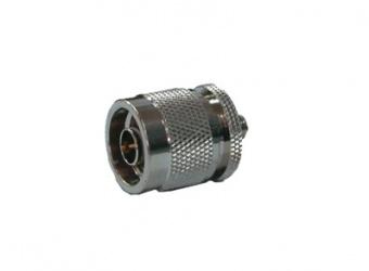 RF Industries Conector Coaxial en Linea SMA Hembra -  N Macho, Metálico