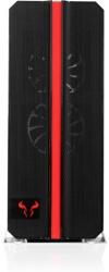 Gabinete Riotoro CR1288 Prism con Ventana RGB, Full-Tower, ATX/EATX/Micro-ATX/Mini-ITX, USB 2.0/3.1, sin Fuente, Negro