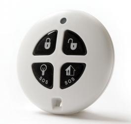 RISCO Botón de Pánico EL2714, Inalámbrico, Negro/Blanco