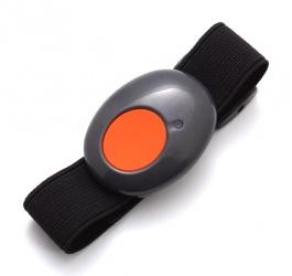 RISCO Botón de Pánico RWT51P, Inalámbrico, Negro