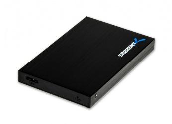 """Sabrent Gabinete de Disco Duro EC-RA25, 2.5"""", SATA, USB 3.0, Negro"""