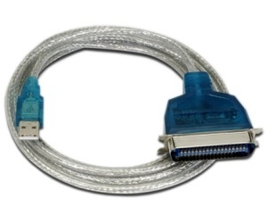 PROVIDER Sabrent Cable para Impresora, USB 2.0 - Paralelo, 2 Metros