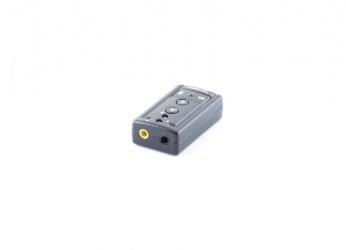 Sabrent Adaptador de Sonido 3D USB-SBCV, USB 2.0, Externo