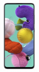 """Smartphone Samsung A51 6.5"""", 1080 x 2400 Pixeles, 128GB, 4GB RAM, 3/4G, Android 10, Negro"""