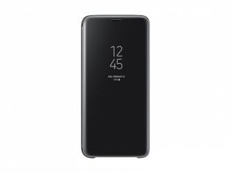 Samsung Funda S-View Cover para Galaxy S9, Negro