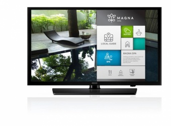 "Samsung TV LED HG49NE470HF 49"", Full HD, Widescreen, Negro"