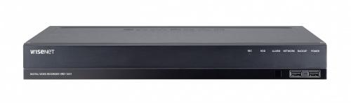 Samsung DVR de 16 Canales HRD-1641 para 2 Discos Duros, max. 12TB, 1x USB 2.0, 1x RJ-45