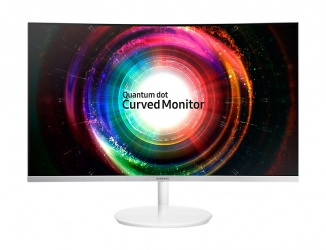 Monitor Gamer Curvo Samsung C27H711 QLED 27'', Quad HD, Widescreen, FreeSync, HDMI, Blanco